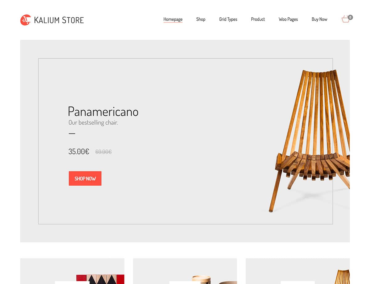Kalium - 46+ Top Best WordPress Themes For Ecommerce [year]