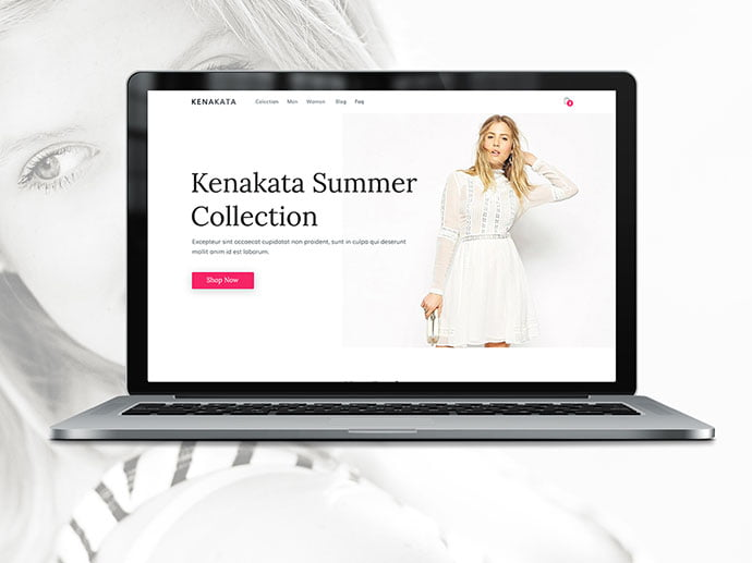 Kenakata - 65+ Amazing Free CSS HTML5 Website Design Templates [year]