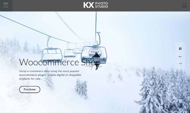 Kinatrix - 31+ Top WordPress Themes For Landscape Photography Portfolio [year]
