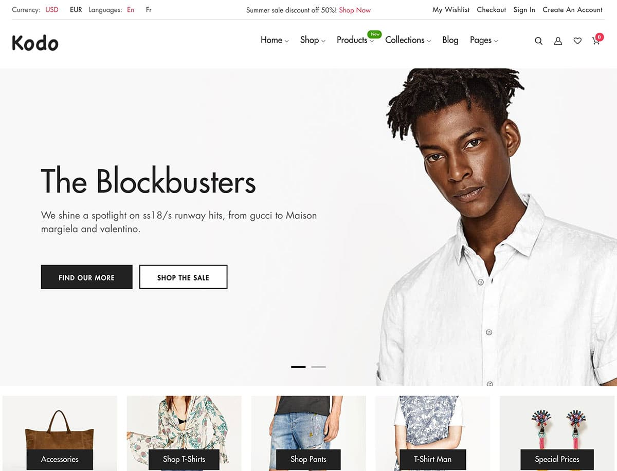 Kodo - 41+ Awesome Shopify Themes For Your Business [year]