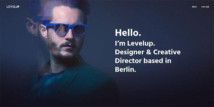 LEVELUP - 36+ Wonderful Gradients Designs WordPress Theme [year]