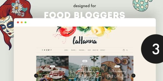 Lahanna - 33+ WordPress Themes To Make Your Blog Attractive [year]