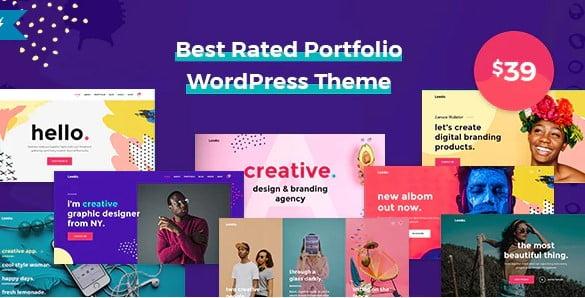 Leedo - 41+ Awesome Logo Designer WordPress Themes [year]