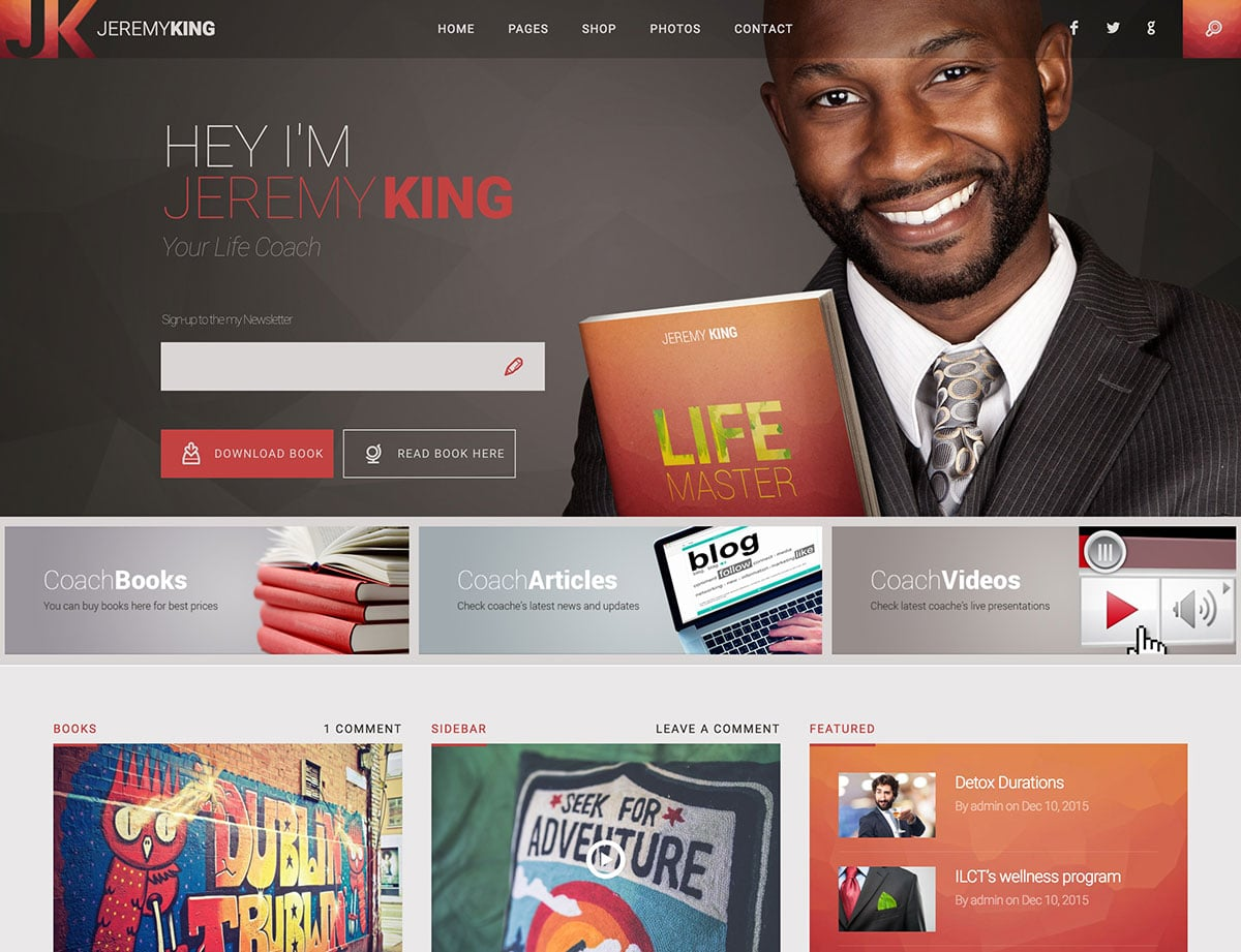 Life-Coach-1 - 36+ Inspiring Best Coaching WordPress Themes [year]