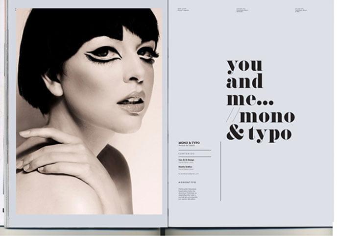 MONOTYPO-No.-2 - 63+ Surprising Typography In Magazine & Book Designs [year]