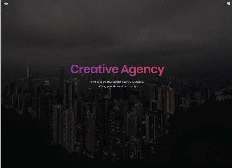 Madrid - 41+ Stunning Responsive Music Website Templates [year]