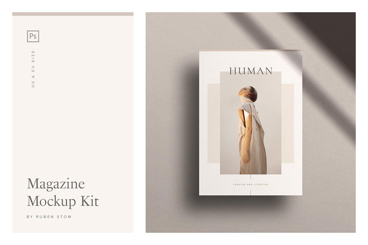 Magazine-Mockup-Kit - 63+ Surprising Typography In Magazine & Book Designs [year]