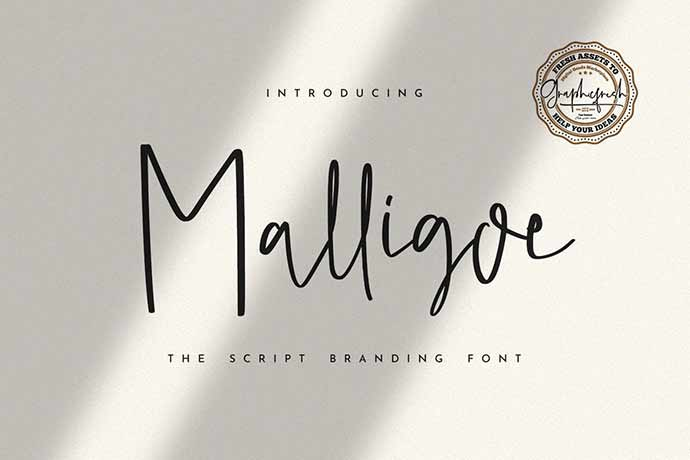 Malligoe - 41+ Important Logo Design Fonts For Graphic Designer [year]