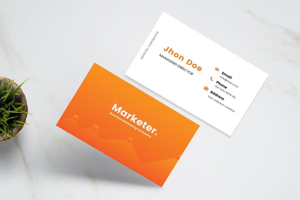 Marketer-Business-Card