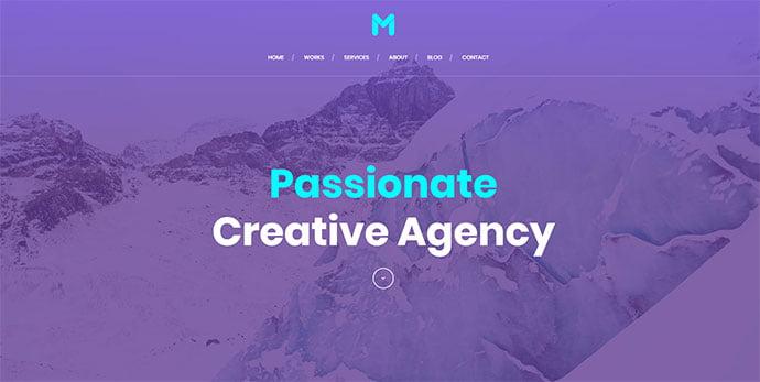 Massive-Dynamic - 36+ Wonderful Gradients Designs WordPress Theme [year]