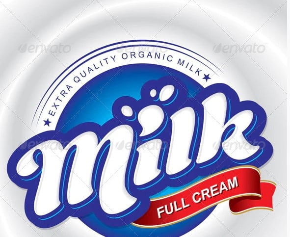 Milk-Packaging-Design - 38+ Awesome Free Packaging Designs that Automatically Sell [year]