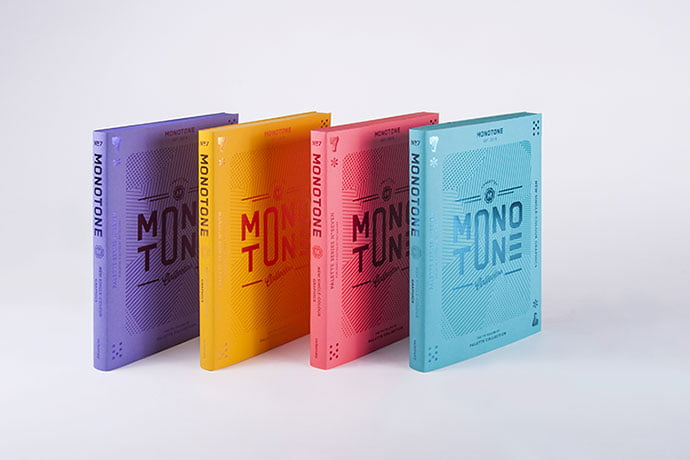 Monotone - 63+ Surprising Typography In Magazine & Book Designs [year]