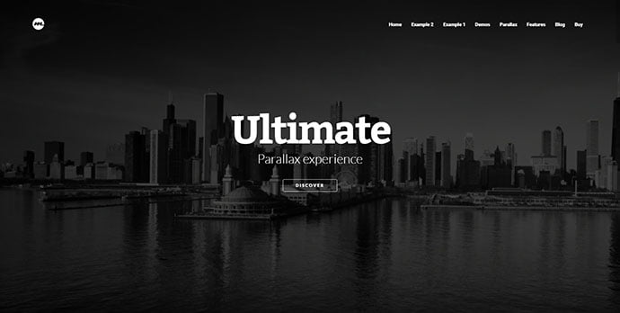 Morpheus - 31+ Unique Parallax Experience WordPress Themes For Developer [year]