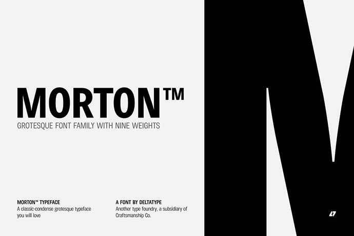 Morton - 56+ Awesome Free Movie Poster Title Extra Bold Fonts [year]