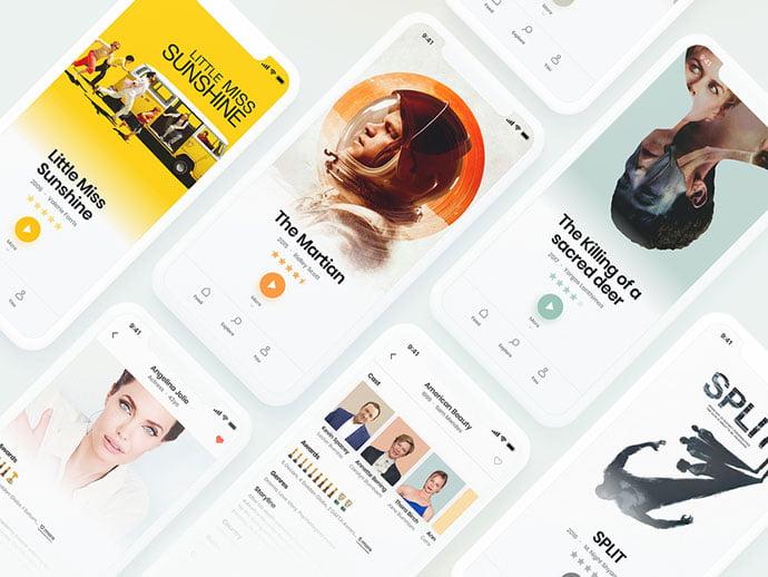 Movie-Explorer - 63+ Amazing Film & TV App UI Design Sample [year]