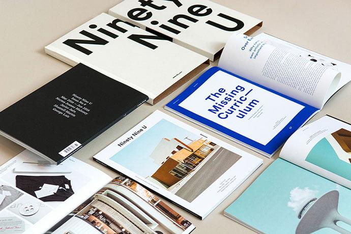Ninety-Nine-U-Magazine-No-9 - 63+ Surprising Typography In Magazine & Book Designs [year]