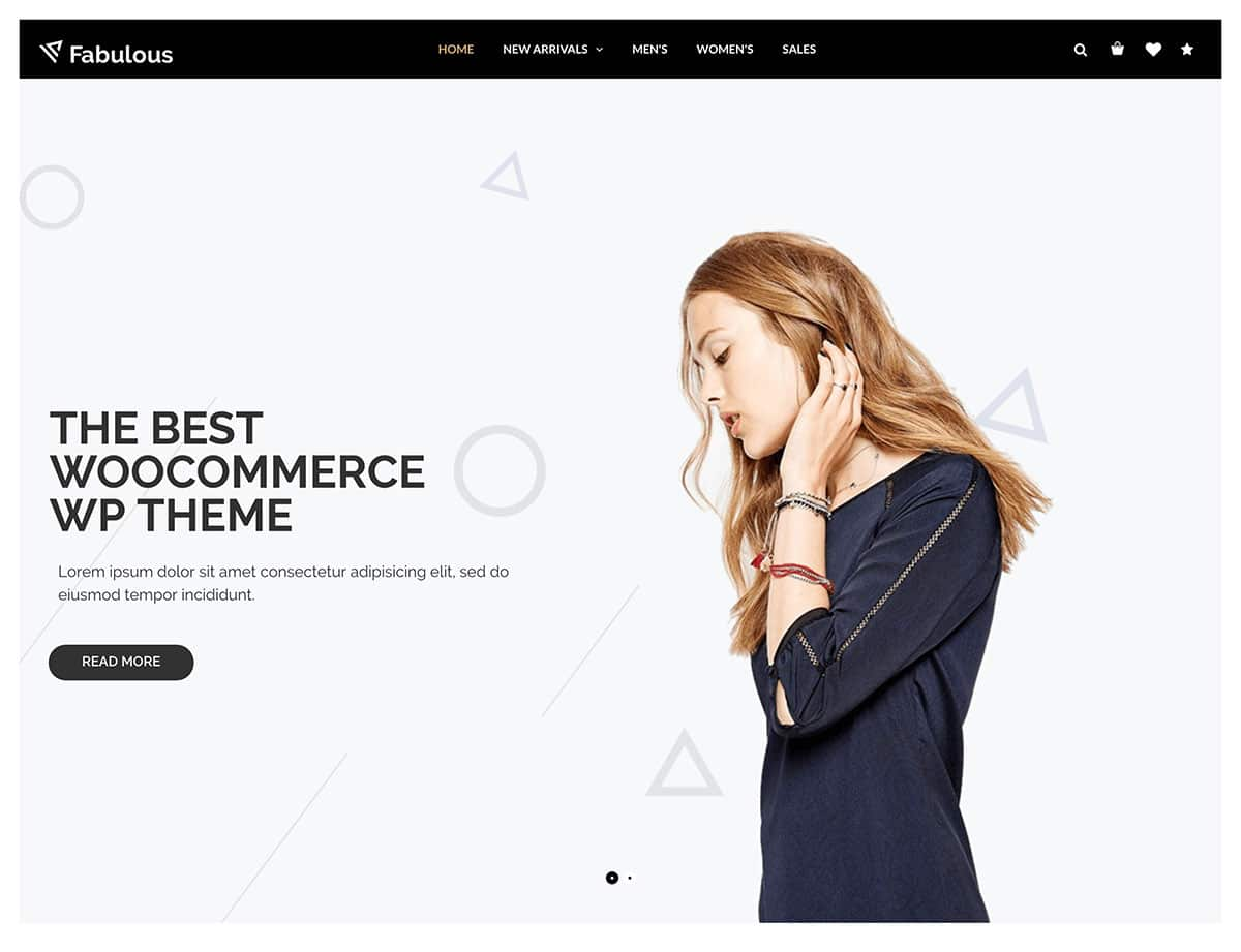 Nitro - 46+ Top Best WordPress Themes For Ecommerce [year]