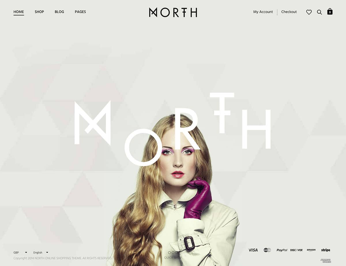 North - 46+ Top Best WordPress Themes For Ecommerce [year]