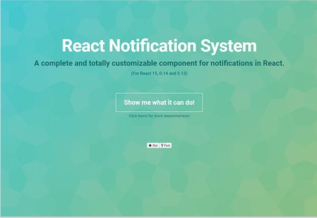 Notification-System - 61+ Free React UI Component Libraries [year]