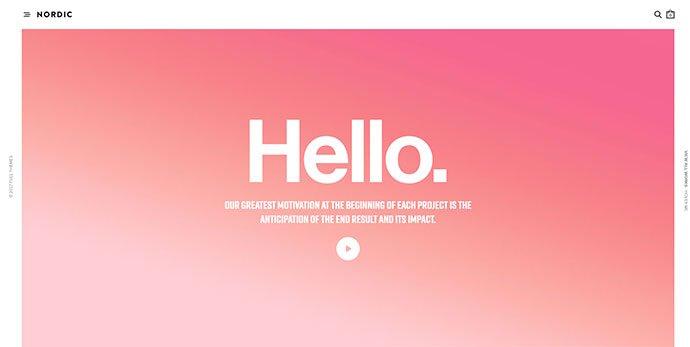 Notio - 36+ Wonderful Gradients Designs WordPress Theme [year]
