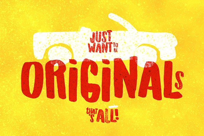 Originals-Typeface - 32+ Honestly Impressive Distorted Fonts [year]