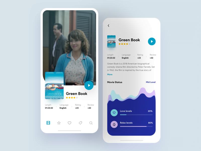 Orizon-TV-app - 63+ Amazing Film & TV App UI Design Sample [year]