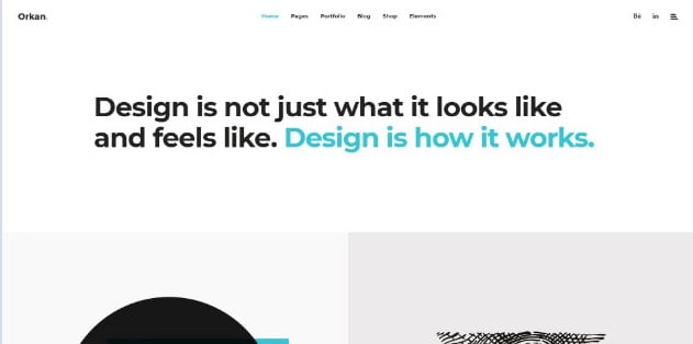 Orkan - 31+ Nice Game UI Designer Portfolio WordPress Themes [year]
