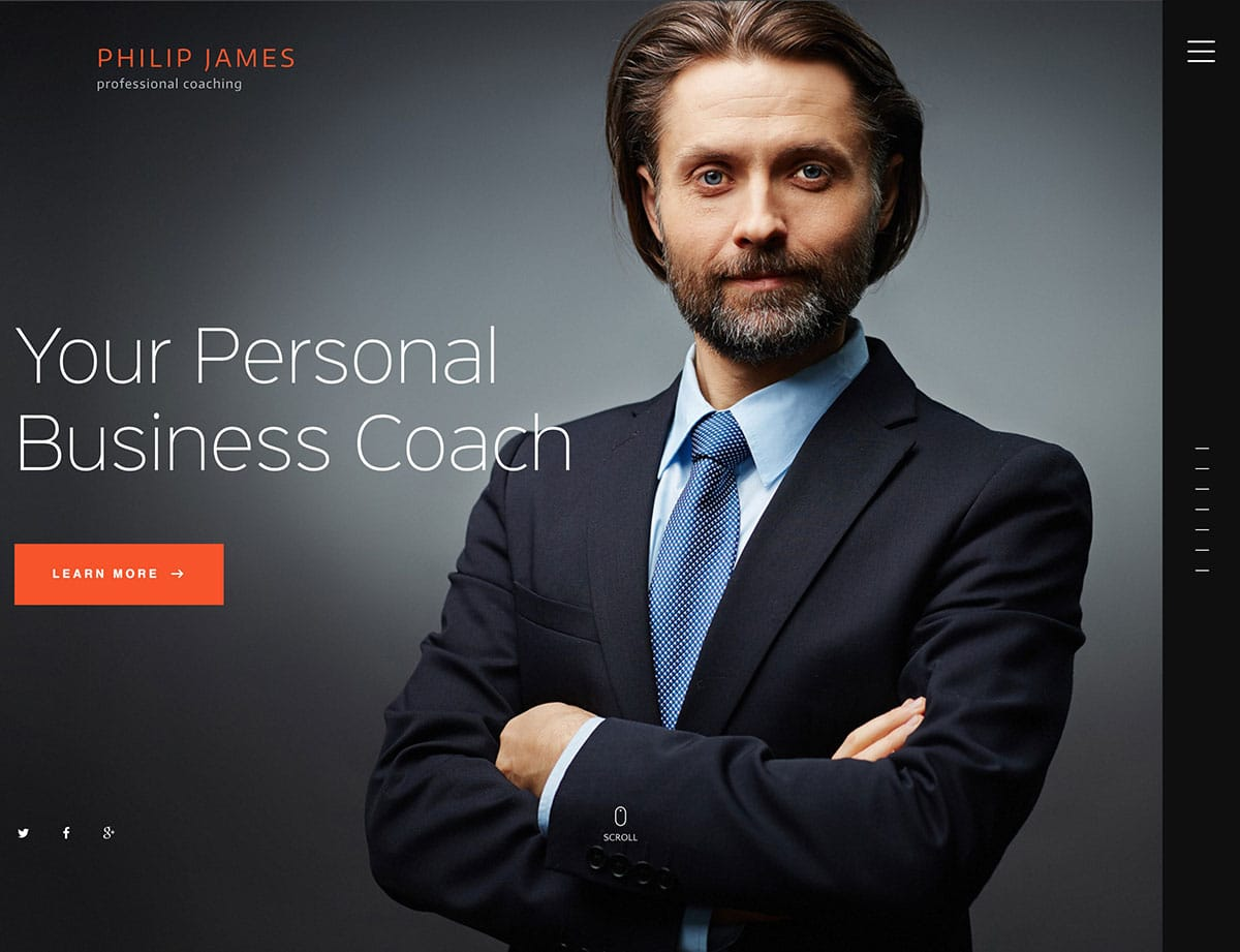 PJ - 36+ Inspiring Best Coaching WordPress Themes [year]