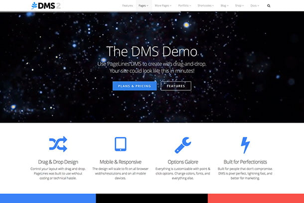 Pagelines - 31+ Top WordPress Themes For Drag and Drop [year]