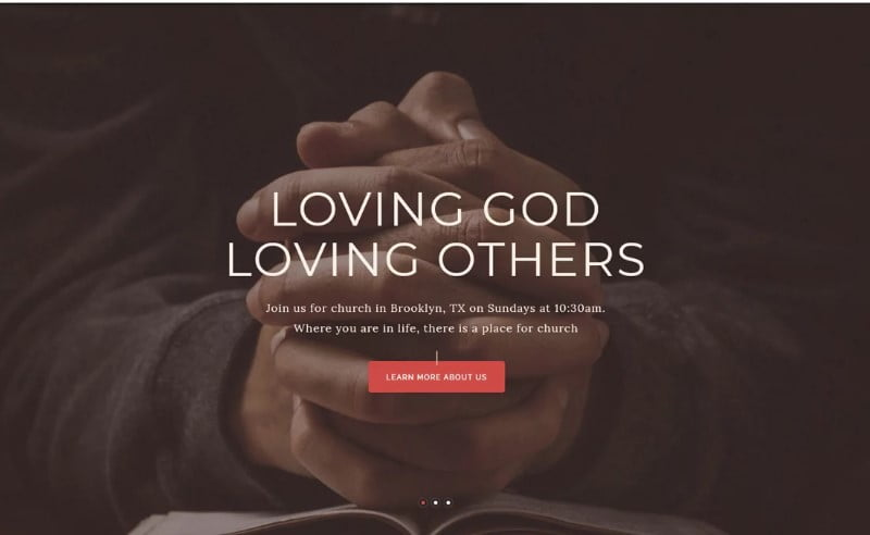 Pastor'e - 31+ Inspiring Modern Church WordPress Themes [year]