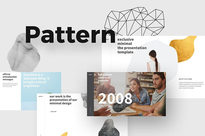 Pattern - 36+ Attractive Typography Keynote Templates [year]