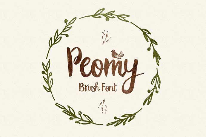 Peomy-Extended-Font-Illustrations-Logos - 41+ Important Logo Design Fonts For Graphic Designer [year]