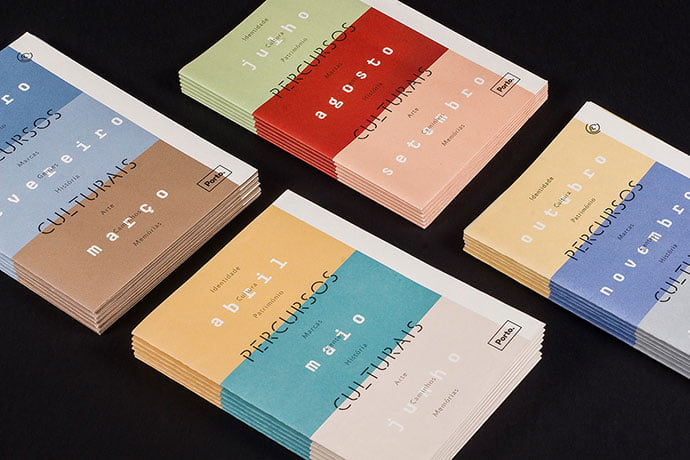 Percursos-Culturais - 63+ Surprising Typography In Magazine & Book Designs [year]