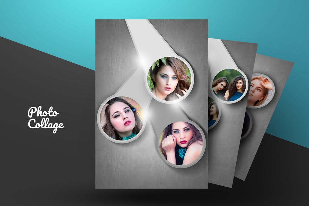 Photo-Collage - 46+ Photographer, Artist & Designer Business Card Templates [year]