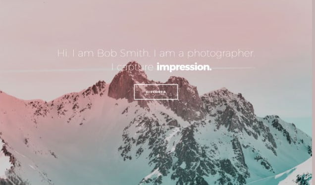Photographer - 31+ Top WordPress Themes For Landscape Photography Portfolio [year]