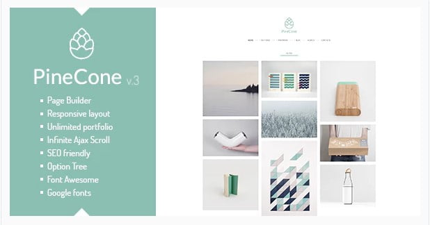 PineCone - 36+ Amazing Tumblr Style WordPress Themes For Developer [year]