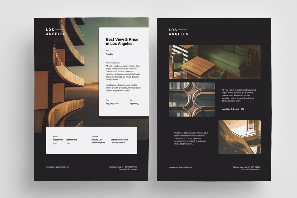 Property-Promo-Flyer - 46+ Photographer, Artist & Designer Business Card Templates [year]