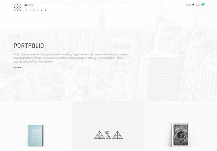 ROUA - 41+ Awesome Logo Designer WordPress Themes [year]