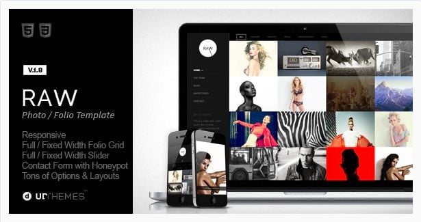 Raw - 36+ Amazing Tumblr Style WordPress Themes For Developer [year]