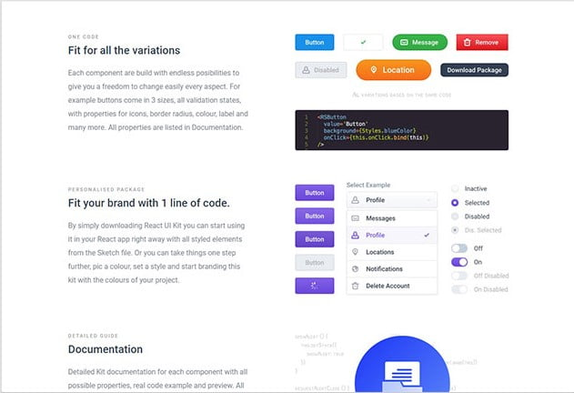 Reactsymbols - 61+ Free React UI Component Libraries [year]