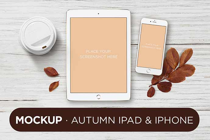 Responsive-Design-Device-iPad-iPhone-Mock - 51+ Amazing iOS and Android Phone PSD Mockup Templates [year]