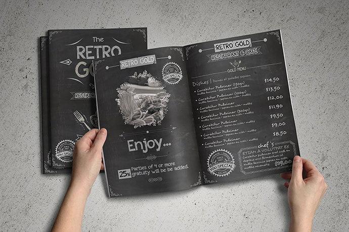 Retro-Cafe-Restaurant-Menu-Pack - 36+ Stunning Hand Drawn Restaurant Menu Design PSD Templates [year]