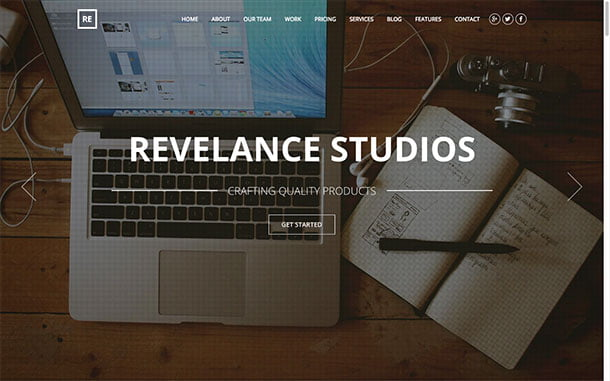 Revelance - 31+ Top WordPress Themes For Drag and Drop [year]