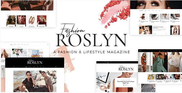 Roslyn - 33+ WordPress Themes To Make Your Blog Attractive [year]