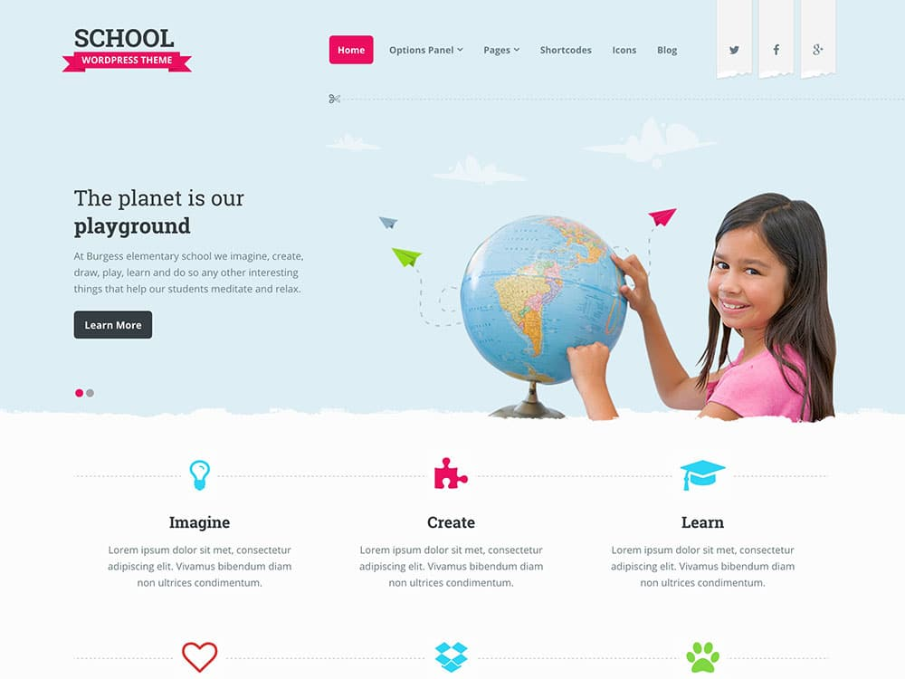 School - 51+ Top Best WordPress Themes For Education [year]