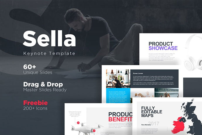 Sella - 36+ Attractive Typography Keynote Templates [year]