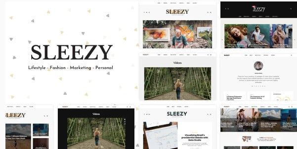 Sleezy-Lifestyle - 33+ WordPress Themes To Make Your Blog Attractive [year]