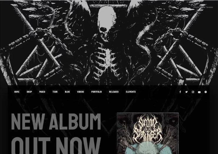 Snakepit - 41+ Stunning Responsive Music Website Templates [year]