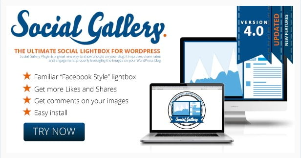 Social - 28+ Awesome Gallery Plugins For WordPress [year]