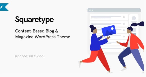 Squaretype - 36+ Inspiring Best Coaching WordPress Themes [year]